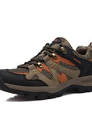 cheap -Men's Sneakers / Hiking Shoes / Mountaineer Shoes Rubber Hiking / Climbing Anti-Slip, Anti-Shake / Damping, Wearable Fabric Yellow / Blue / Khaki