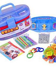 Magneti giocattolo 1 Pezzi MM Magneti giocattolo Costruzioni Gioco educativo Calamita Circolare Giocattoli esecutivi Cubo a puzzle per il