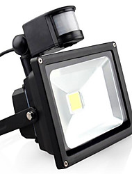cheap -LED Floodlight Sensor Dimmable Easy Install Outdoor Lighting Garage/Carport Warm White Cold White AC 85-265V