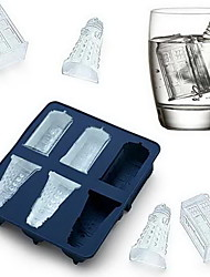 cheap -Doctor Who Cocktails Silicone Ice Cube Tray Candy Chocolate Baking Molds diy Bar Party Drink
