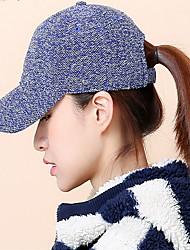 Cap baseball cap Double color knit cap outdoor sports leisure boom Breathable / Comfortable  BaseballSports