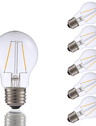 E26 LED Filament Bulbs A17 2 COB 200 lm Warm White 2700 K Dimmable AC 110-130 V