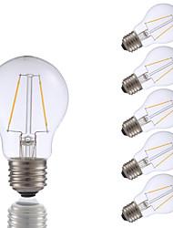 E26 Lâmpadas de Filamento de LED A17 2 leds COB Regulável Branco Quente 200lm 2700K AC 110-130V