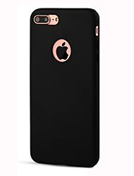cheap -For iPhone 8 iPhone 8 Plus iPhone 7 iPhone 6 iPhone 5 Case Case Cover Shockproof Back Cover Case Solid Color Soft TPU for Apple iPhone 8