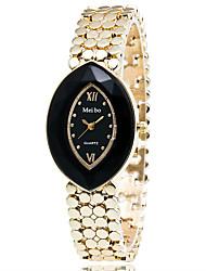 Xu™ Dámské Módní hodinky Náramkové hodinky Křemenný Slitina Kapela Retro Běžné nošení Zlatá Bílá Černá Fialová Modrá