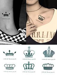 cheap -1 Tattoo Stickers Animal SeriesBaby / Child / Women / Men Flash Tattoo Temporary Tattoos