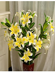 cheap -1 1 Branch Plastic / Others Lilies / Others Floor Flower Artificial Flowers
