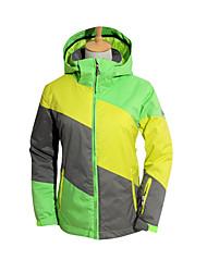 Abbigliamento da neve Per donna Abbigliamento invernale Tessuto sintetico Strisce Floral / botanico Vestiti invernali Ompermeabile Tenere