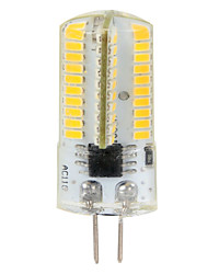 abordables -4W G4 Bombillas LED de Mazorca T 80 leds SMD 3014 Regulable Decorativa Blanco Cálido Blanco Fresco 350-400lm 2800-6000K AC 100-240 AC