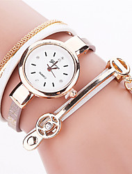 Xu™ Dámské Módní hodinky Náramkové hodinky Křemenný PU Kapela Retro Běžné nošení Černá Bílá Modrá Červená Hnědá RůžováČerná Hnědá Červená