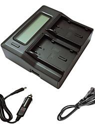 ismartdigi caricatore doppio dli90 LCD con cavo di ricarica auto per PENTAX K7 k-7 K5 k-5ii k52s iis K01 645D batterys della macchina