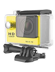 W9 Action cam / Sport cam 16MP 4000 x 3000 Wi-fi / Impermeabile / Regolabile / Senza fili 30fps 4X ± 2EV 2 CMOS 32 GB Formato H.264Scatto