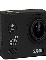 SJ7000 Action cam / Sport cam 16MP 4000 x 3000 Wi-fi / Impermeabile / Regolabile / Senza fili 30fps 4X ± 2EV 2 CMOS 32 GB Formato H.264