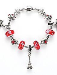 European and American Nations DIY Bracelet Buckle Crystal Bracelet Fashion Crystal Glass Beaded Bracelet Wholesale Jewelry Selling