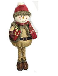 Недорогие -Костюмы Санта Клауса Elk Снеговик Рождественский декор Мультяшная тематика Мода Высокое качество Милый текстильный Девочки Мальчики