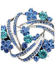 cheap -Women's Brooches Crystal Imitation Diamond Jewelry For Wedding Party Daily Casual