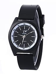 ieftine -pentru Doamne Ceas La Modă Ceas de Mână Quartz PU Bandă Vintage Casual Negru Alb Alb Negru