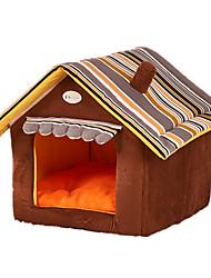 Недорогие -Кошка Собака Кровати Животные Коврики и подушки Мягкий Желтый Кофейный Зеленый Для домашних животных