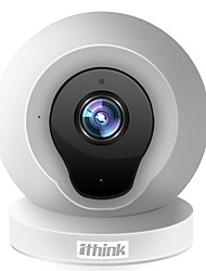 cheap -1.0 MP Indoor with IR-cut Day Night Zoom 64GB (32GB enough)(Day Night Motion Detection Dual Stream Remote Access IR-cut) IP Camera