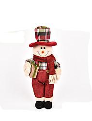 Peluches Santons Jouets Costumes de père noël Elk Bonhomme de neige Cerf Articles d'ameublement Garçon Fille Pièces