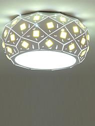 42cm Modern Style Simplicity Crystal LED Ceiling Lamp 24W Flush Mount Light Fixture