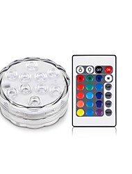Χαμηλού Κόστους Smart Home  Huge Promotion-1pcs RGB 10led SMD5050 4.5V απομακρυσμένες φωτιστικό αδιάβροχο βάζο πολυ-χρώμα