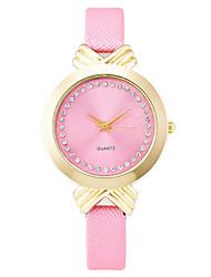 Xu™ Dámské Módní hodinky Náramkové hodinky Křemenný PU Kapela Retro Běžné nošení Černá Bílá Modrá Hnědá RůžováBílá Černá Hnědá Modrá