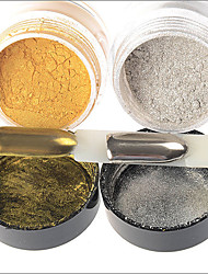 Aurora Flour Powder Metal Silver Electroplating Mirror Phototherapy Flash Powder 5g Variety of Gold and Silver