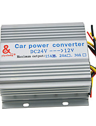 Truck Car 15A 180W Imput DC 24V to 12V Output Power Supply Transformer Converter