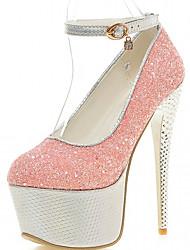 Da donna-Tacchi-Ufficio e lavoro Casual Formale-Light Up Shoes-A stiletto-Finta pelle-Viola Rosso Blu