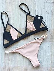 cheap -Women's Bikini - Color Block, Modern Style