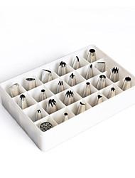 Недорогие -Инструменты для выпечки Нержавеющая сталь / Металл Антипригарное покрытие Торты Наборы посуды для выпечки
