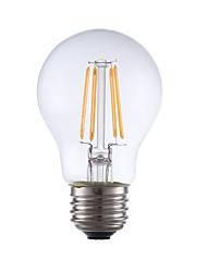 E26 Lâmpadas de Filamento de LED A17 4 leds COB Regulável Branco Quente 350lm 2700K AC 110-130V