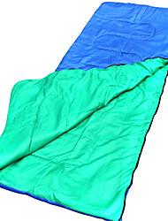Schlafsack Rechteckiger Schlafsack Einzelbett(150 x 200 cm) 10 HohlbaumwolleX30 Camping Reisen Draußen DrinnenWasserdicht Tragbar
