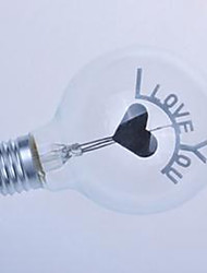cheap -G80 Edison Flame Ball Bubble Love You I Romantic Wedding Bulb