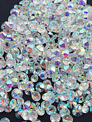cheap -1440PC/Bag High Quality Nail Art Jewelry Nail Rhinestones Decorations Crystal Glitter (Assorted 6 Sizes)