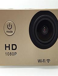 TAMERA Sports Action Camera 16MP 4000 x 3000 WiFi Adjustable Waterproof wireless 30fps 4x ±2EV 1.5 CMOS 32 GB H.264 English French German