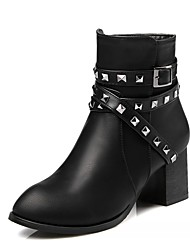 Women's Boots Spring Fall Winter Platform Comfort Novelty Patent Leather LeatheretteWedding Outdoor Office & Career Party & Evening Dress