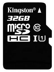 economico -Kingston 32GB TF Micro SD Card scheda di memoria UHS-I U1 Class10