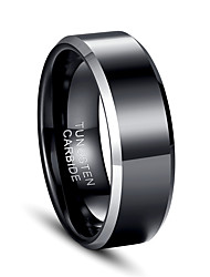Men's Ring Jewelry European Costume Jewelry Tungsten Steel Jewelry For Party