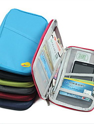 cheap -Passport Holder & ID Holder Waterproof Portable Dust Proof Travel Storage for Waterproof Portable Dust Proof Travel StorageRose Green