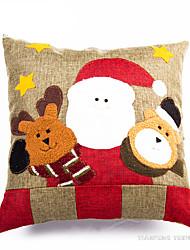 Недорогие -Костюмы Санта Клауса Снеговик Рождественский декор Новогодние подарки Подушка Милый Мультяшная тематика Высокое качество Мода текстильный Мальчики Девочки Игрушки Подарок