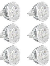 cheap -LED 12V DC/AC 4W MR16 Led Spot Light Lamp Cup for Dining Room/Display Hall/Indoor Warm/Cool White (6 Pieces)