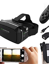 cheap -VR Glasses with 3D Mini Camera Lens Make 3D Movie Game for Smartphone with Gamepad with Gift Android OTG