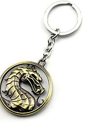 economico -Altri accessori Ispirato da Game of Thrones/Il trono di spade Cosplay Anime Accessori Cosplay Portachiavi Oro / Argento Lega