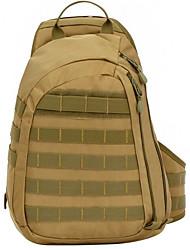 20-35 L Sling & Messenger Bag Shoulder Bag Leisure Sports Waterproof Breathable Shockproof Canvas