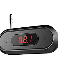 cheap -Doosl 3.5mm FM Transmitter Hands-free Calling Wireless Radio Car Kit Compatible with iPhone Samsung with 3.5mm Audio Jack