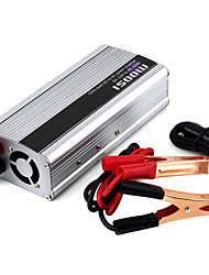 cheap -1500W DC 12V to AC 220V Power Inverter - Silver