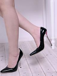 Недорогие -Жен. Обувь Синтетика Лакированная кожа Дерматин Весна Лето Оригинальная обувь Обувь на каблуках На шпильке Платформа Заостренный носок