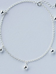 cheap -Anklet - Sterling Silver Fashion Silver For Daily / Casual / Women's